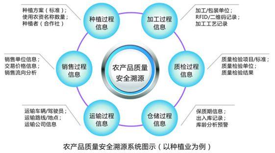 农产品溯源系统开发